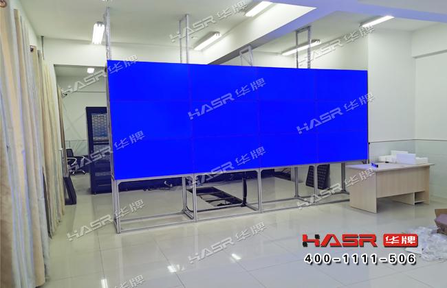 庆阳华池一中46寸拼接屏项目