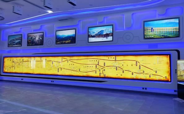 新疆乌鲁木齐旅游展厅多媒体设备项目