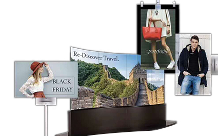 OLED广告机